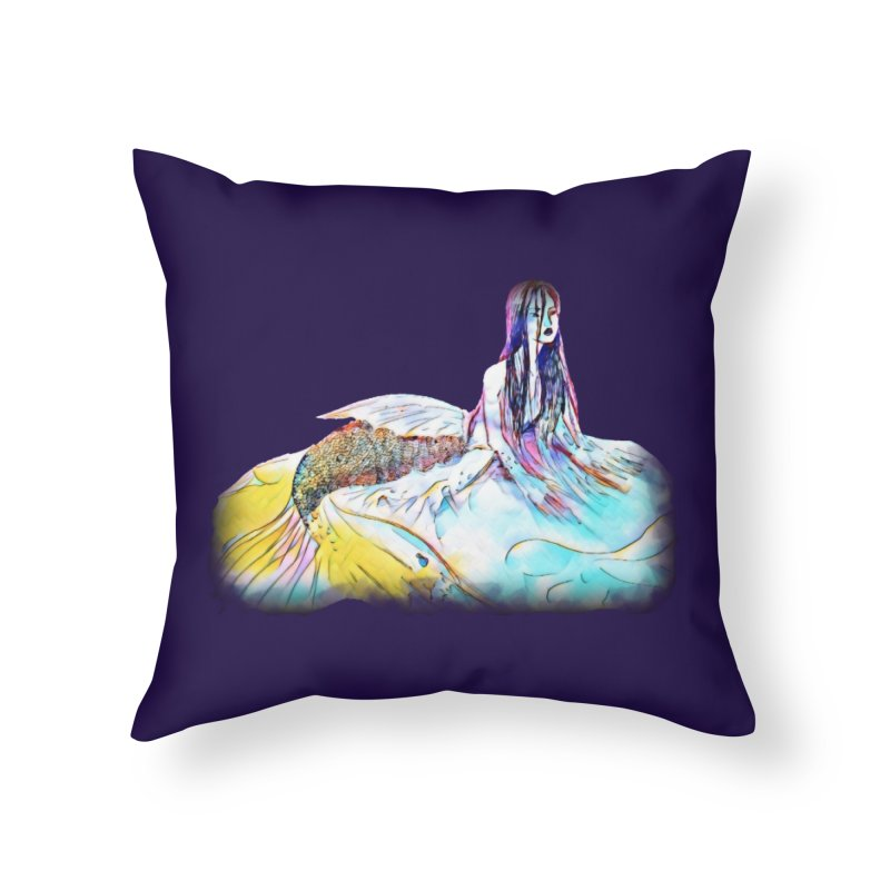 Emergence Home Throw Pillow by dasiavou's Artist Shop