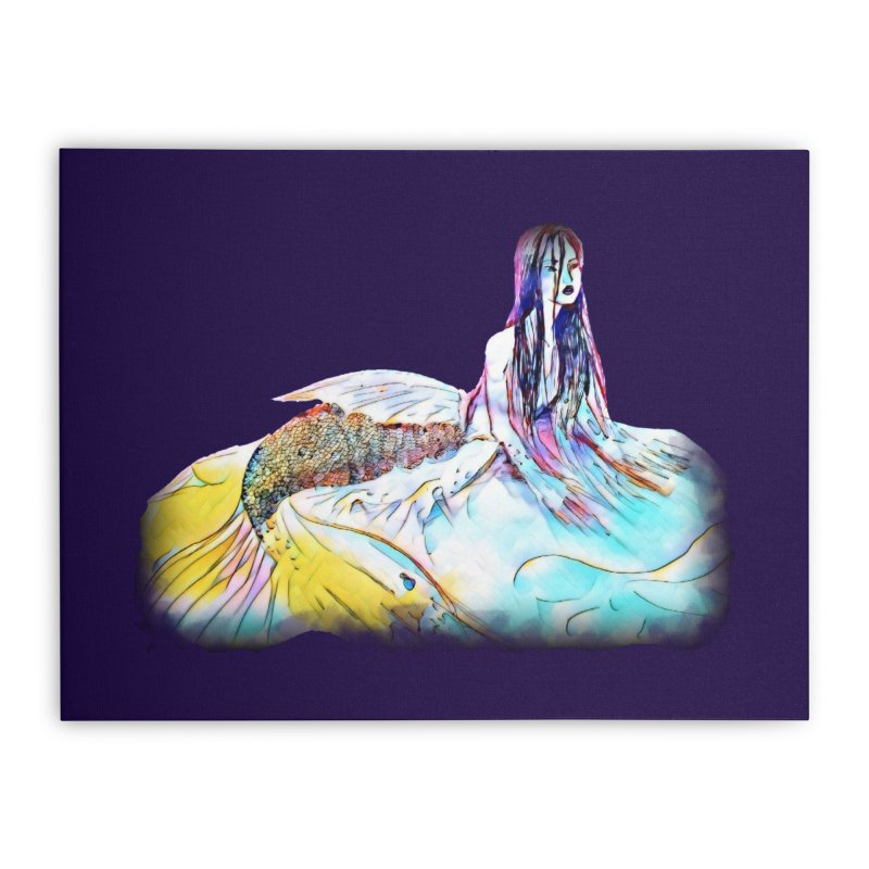 Emergence Home Stretched Canvas by dasiavou's Artist Shop