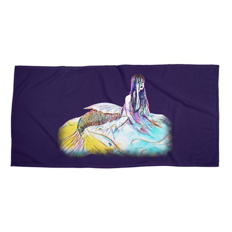 Emergence Accessories Beach Towel by dasiavou's Artist Shop