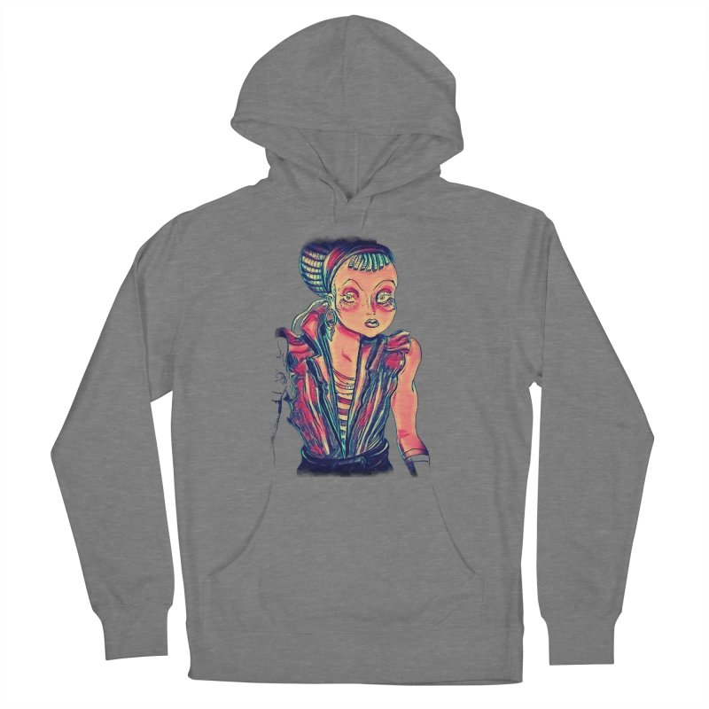 Bandit Queen Women's Pullover Hoody by dasiavou's Artist Shop