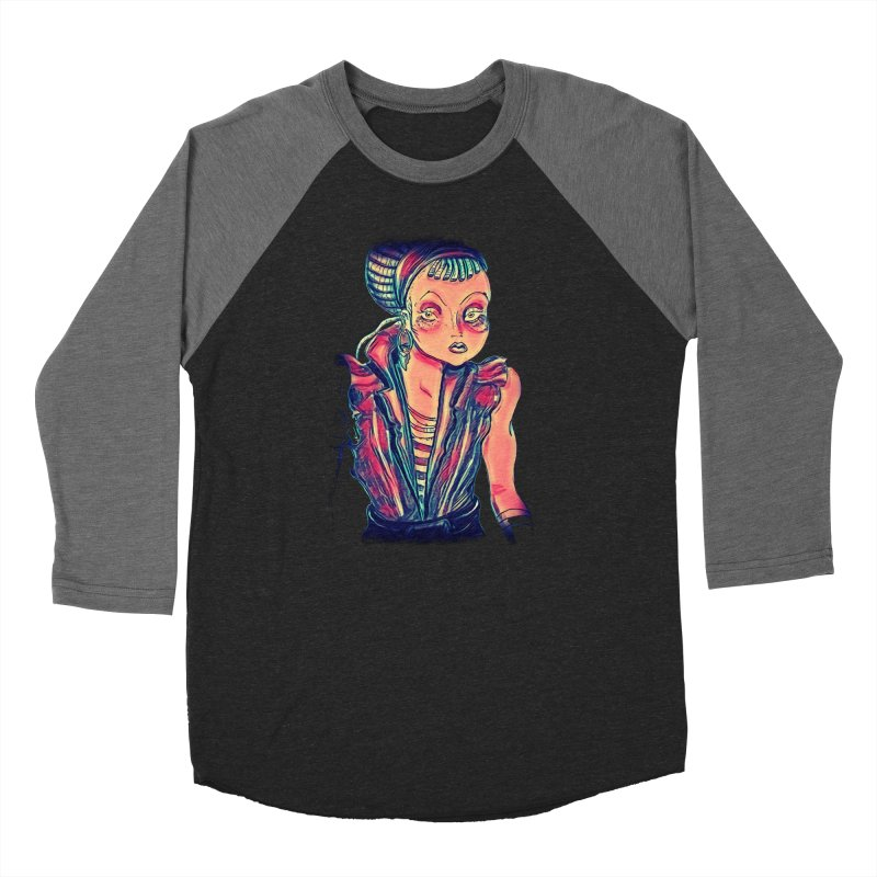 Bandit Queen Women's Longsleeve T-Shirt by dasiavou's Artist Shop