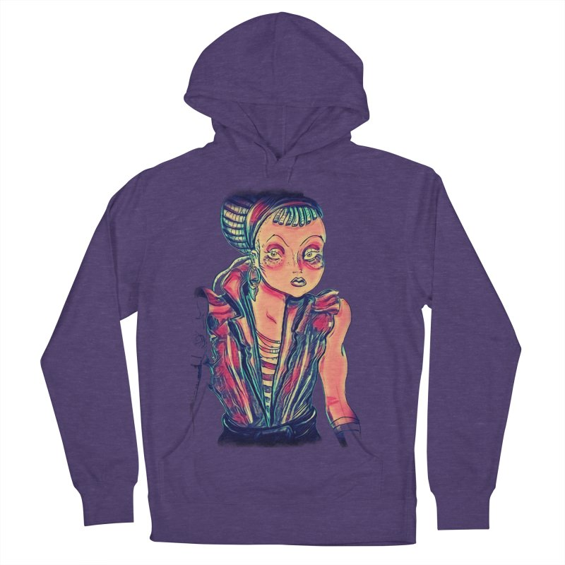 Bandit Queen Women's French Terry Pullover Hoody by dasiavou's Artist Shop