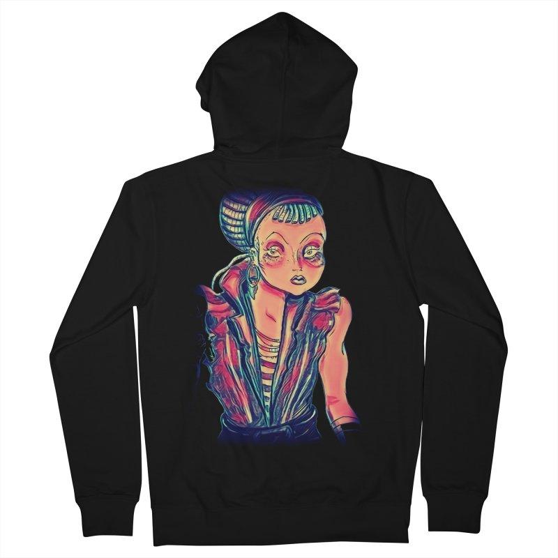 Bandit Queen Women's Zip-Up Hoody by dasiavou's Artist Shop