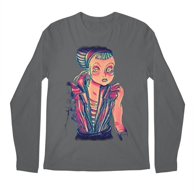 Bandit Queen Men's Longsleeve T-Shirt by dasiavou's Artist Shop