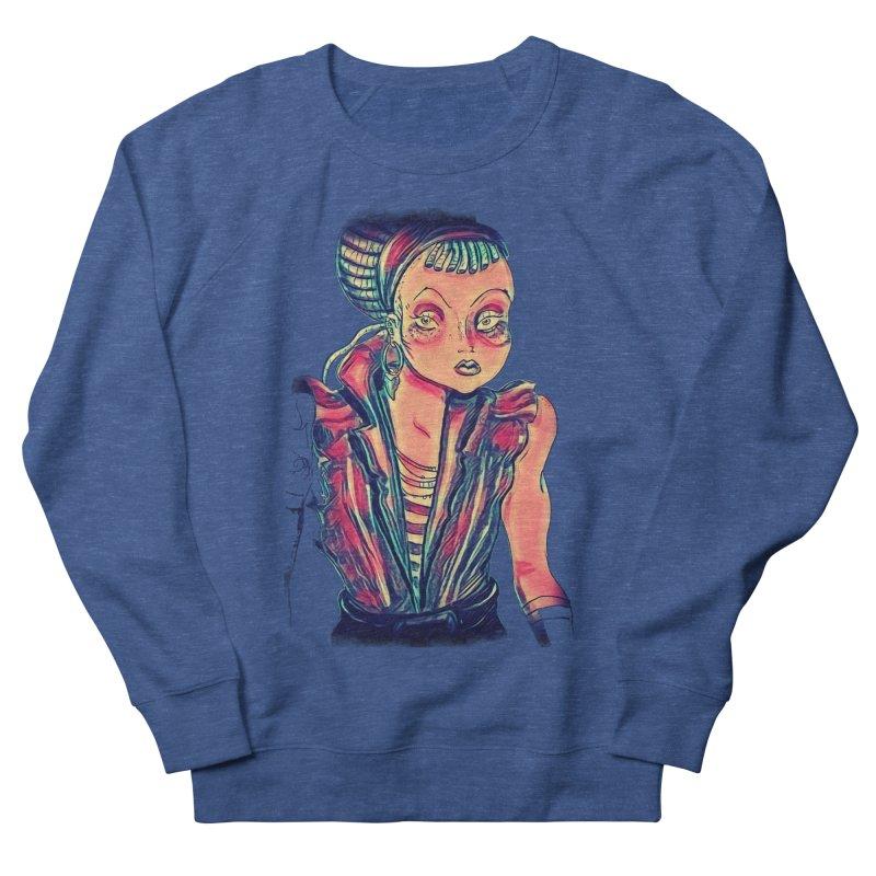 Bandit Queen Women's French Terry Sweatshirt by dasiavou's Artist Shop
