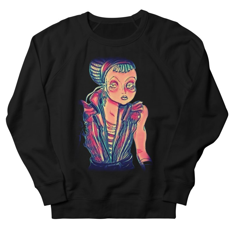 Bandit Queen Men's French Terry Sweatshirt by dasiavou's Artist Shop