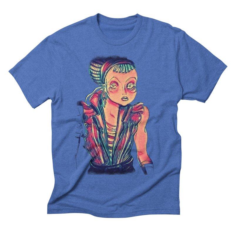 Bandit Queen Men's Triblend T-Shirt by dasiavou's Artist Shop