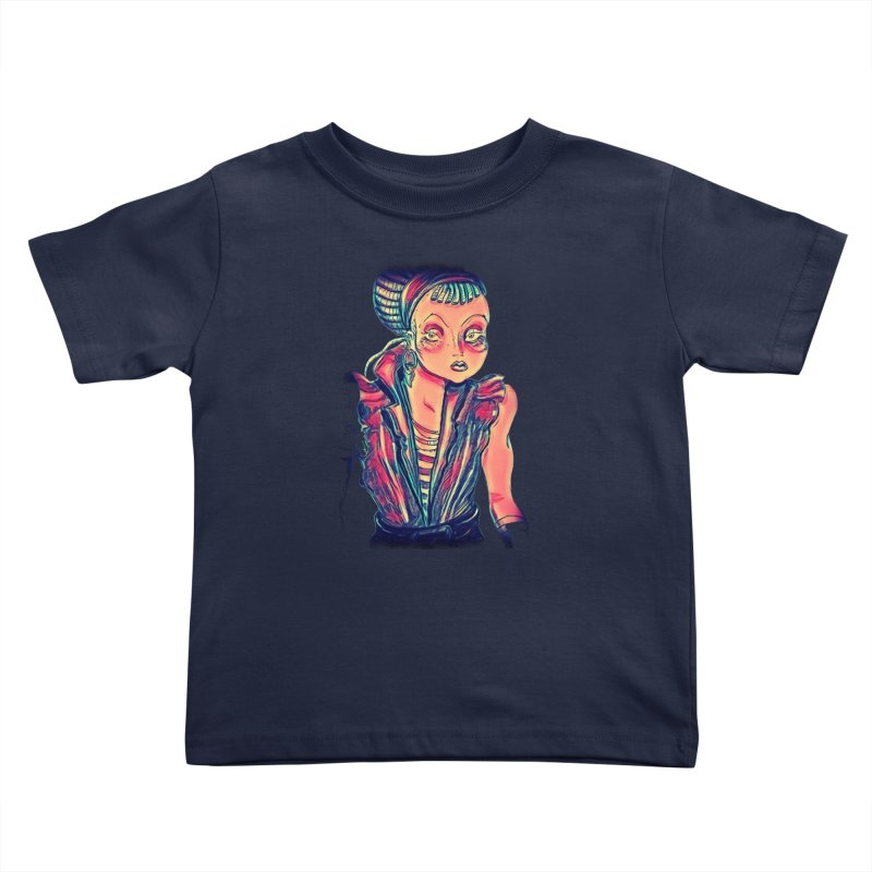 Bandit Queen Kids Toddler T-Shirt by dasiavou's Artist Shop