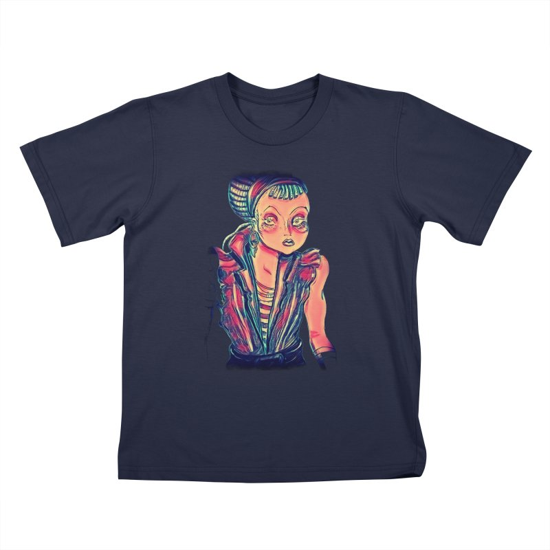 Bandit Queen Kids T-Shirt by dasiavou's Artist Shop