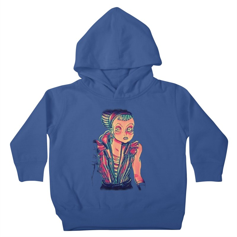Bandit Queen Kids Toddler Pullover Hoody by dasiavou's Artist Shop
