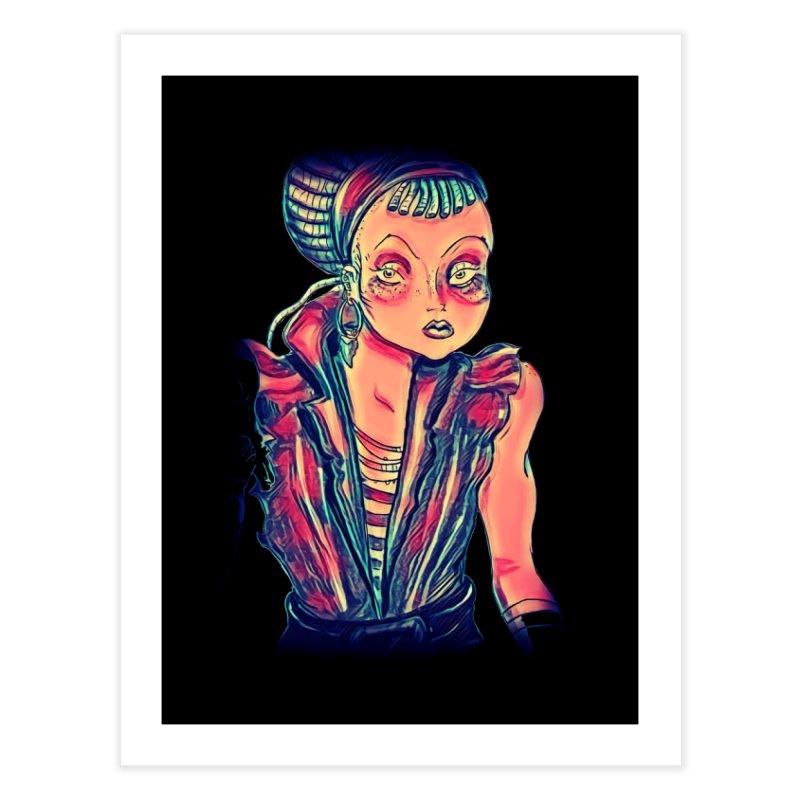 Bandit Queen Home Fine Art Print by dasiavou's Artist Shop