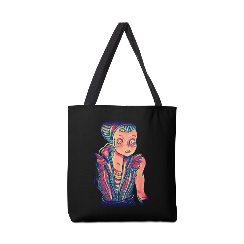 Bandit Queen Accessories Tote Bag Bag by dasiavou's Artist Shop