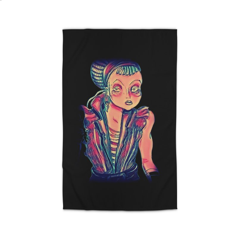 Bandit Queen Home Rug by dasiavou's Artist Shop