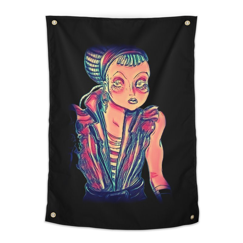 Bandit Queen Home Tapestry by dasiavou's Artist Shop