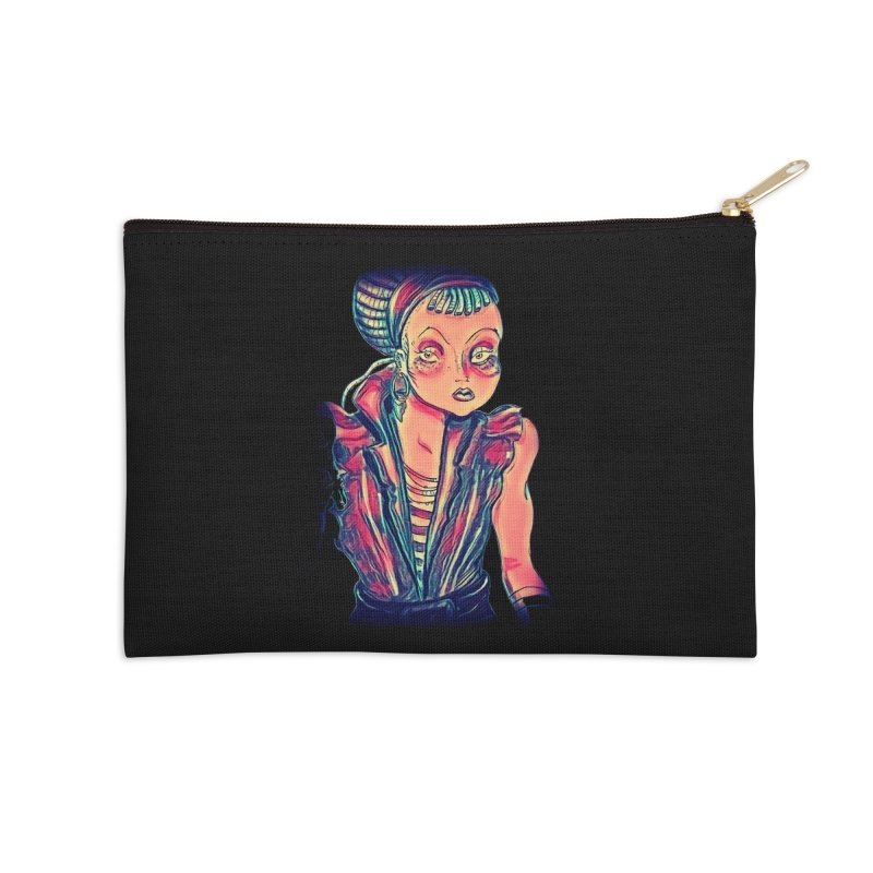 Bandit Queen Accessories Zip Pouch by dasiavou's Artist Shop