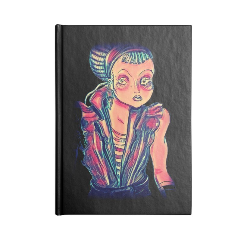 Bandit Queen Accessories Notebook by dasiavou's Artist Shop