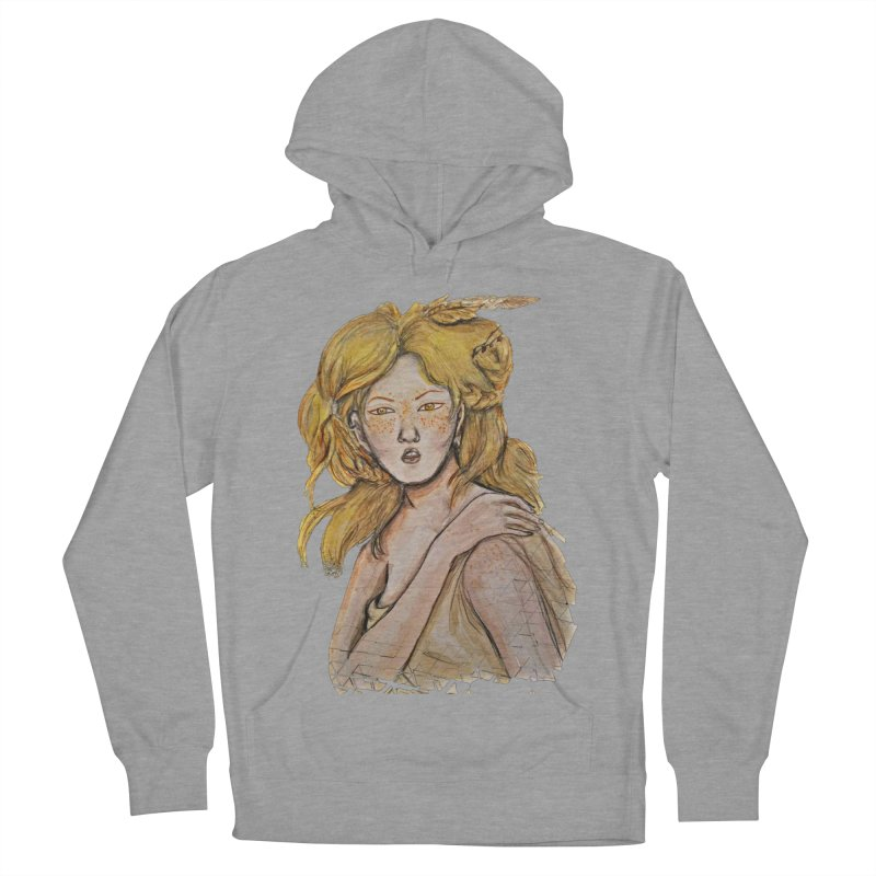 Dissipate Women's French Terry Pullover Hoody by dasiavou's Artist Shop