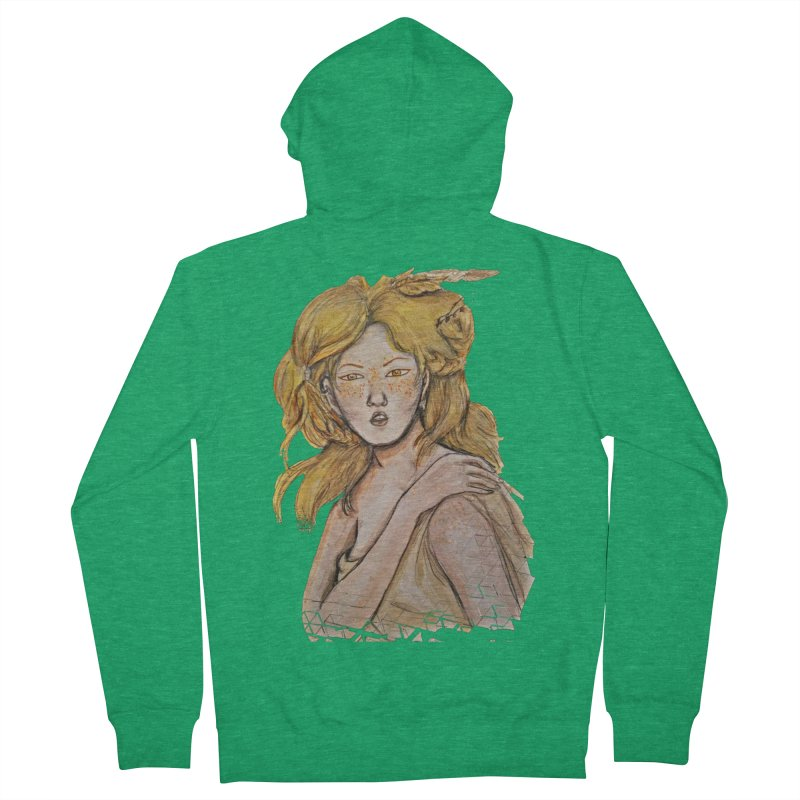 Dissipate Women's Zip-Up Hoody by dasiavou's Artist Shop