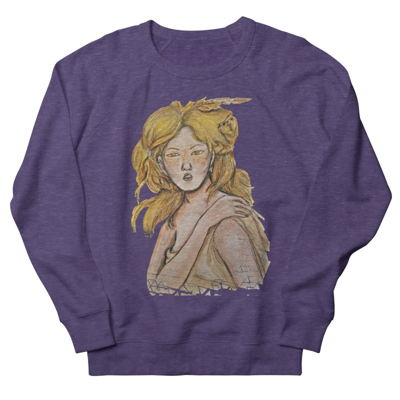 Dissipate Women's French Terry Sweatshirt by dasiavou's Artist Shop