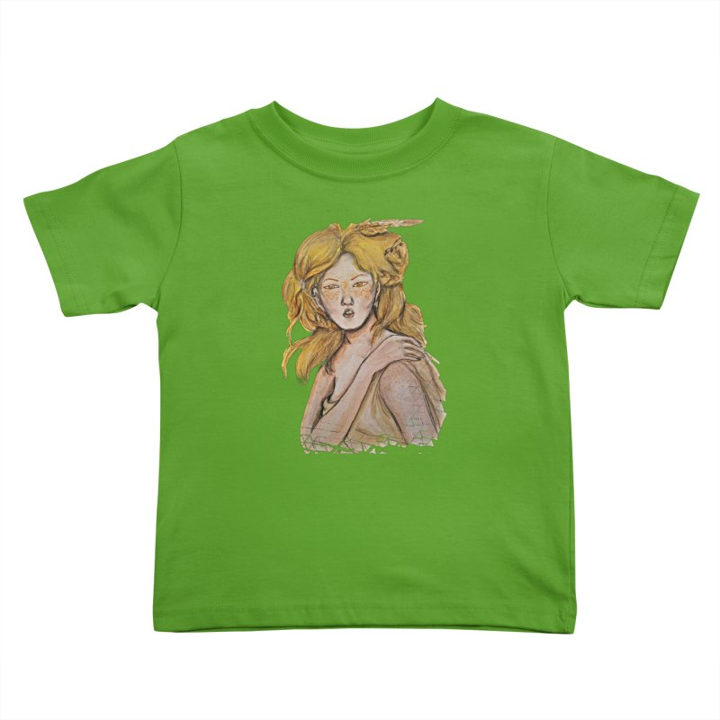 Dissipate Kids Toddler T-Shirt by dasiavou's Artist Shop