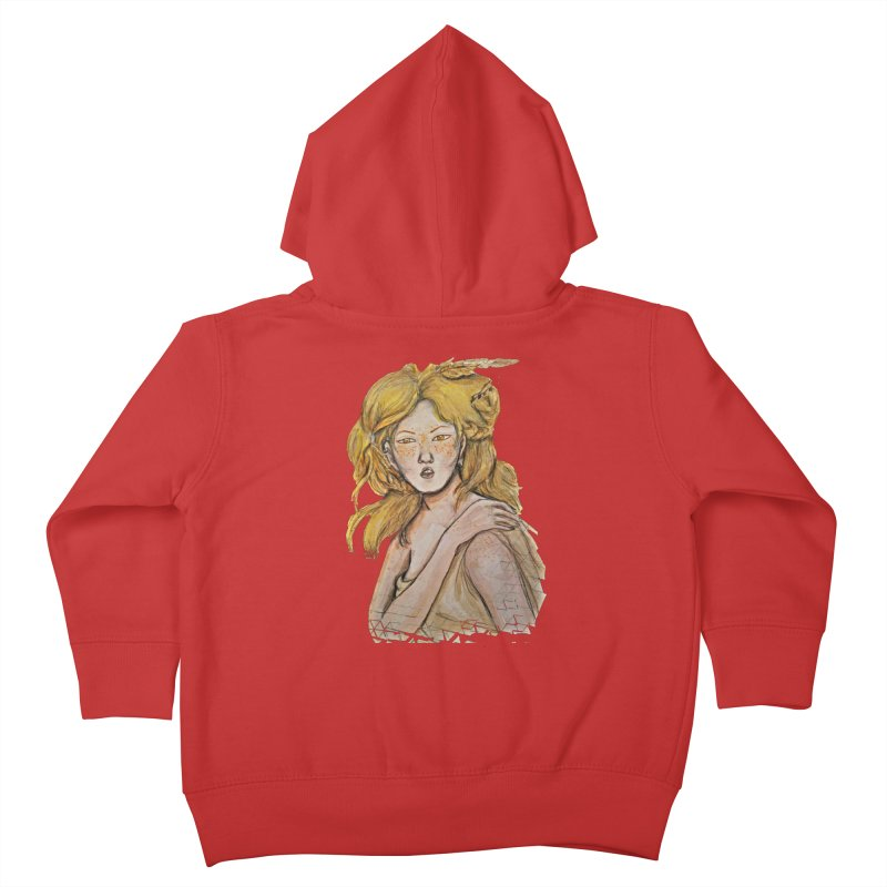 Dissipate Kids Toddler Zip-Up Hoody by dasiavou's Artist Shop