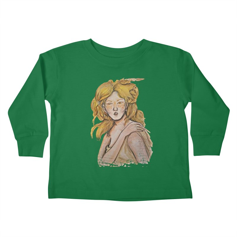 Dissipate Kids Toddler Longsleeve T-Shirt by dasiavou's Artist Shop