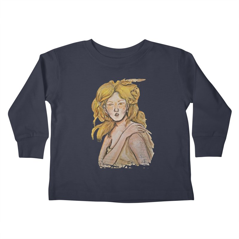 Dissipate Kids Toddler Longsleeve T-Shirt by dasiavou's Artist Shop