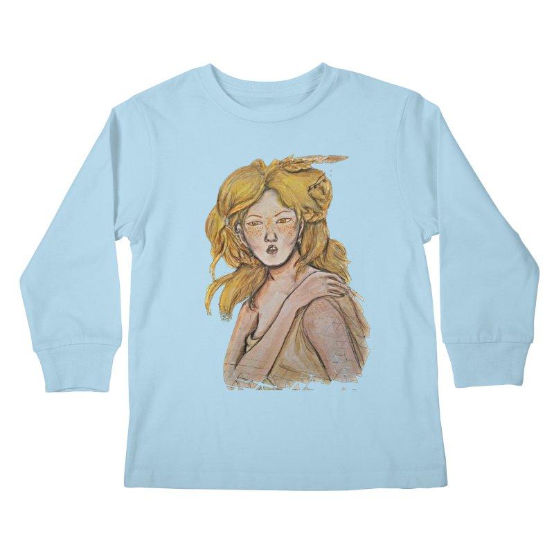 Dissipate Kids Longsleeve T-Shirt by dasiavou's Artist Shop