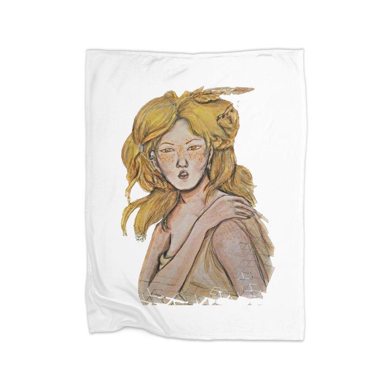Dissipate Home Fleece Blanket Blanket by dasiavou's Artist Shop