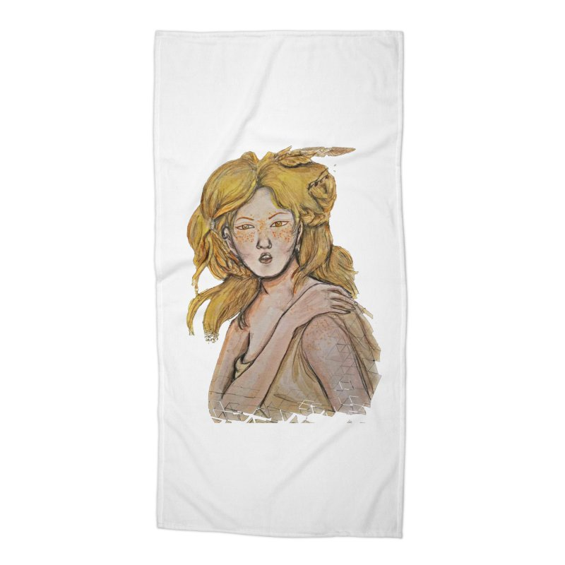 Dissipate Accessories Beach Towel by dasiavou's Artist Shop
