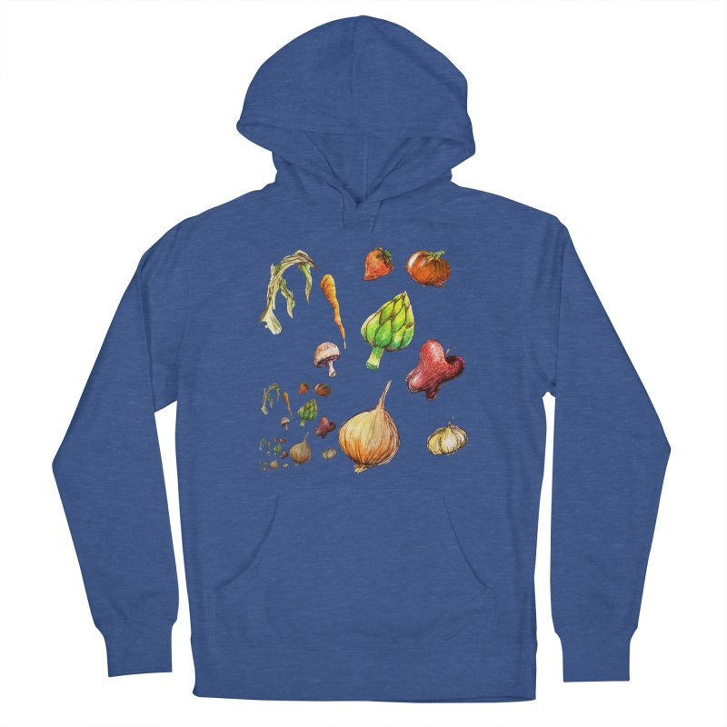 Romanesco Women's French Terry Pullover Hoody by dasiavou's Artist Shop