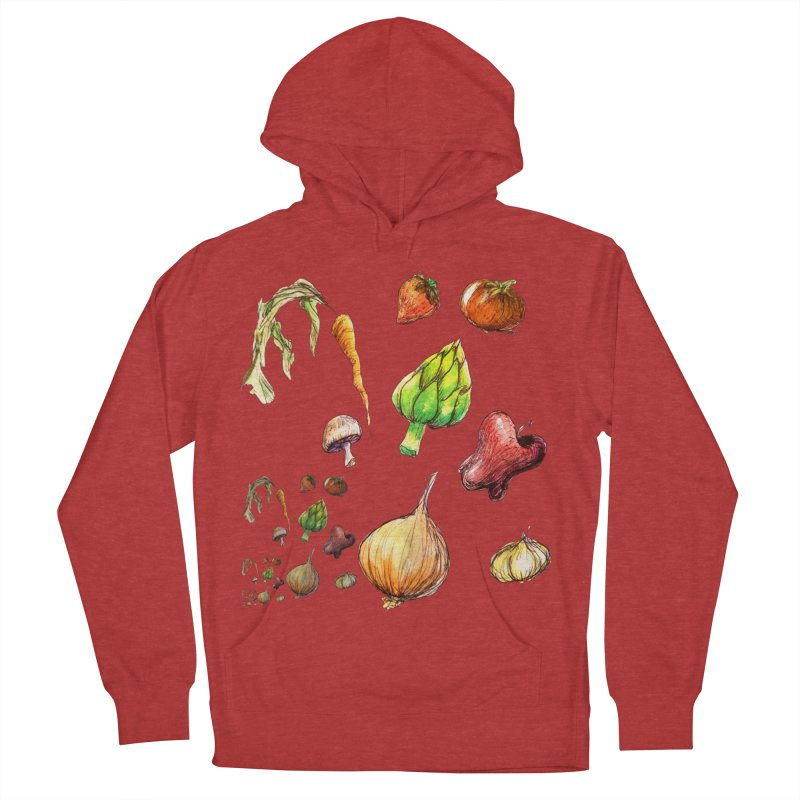 Romanesco Men's French Terry Pullover Hoody by dasiavou's Artist Shop