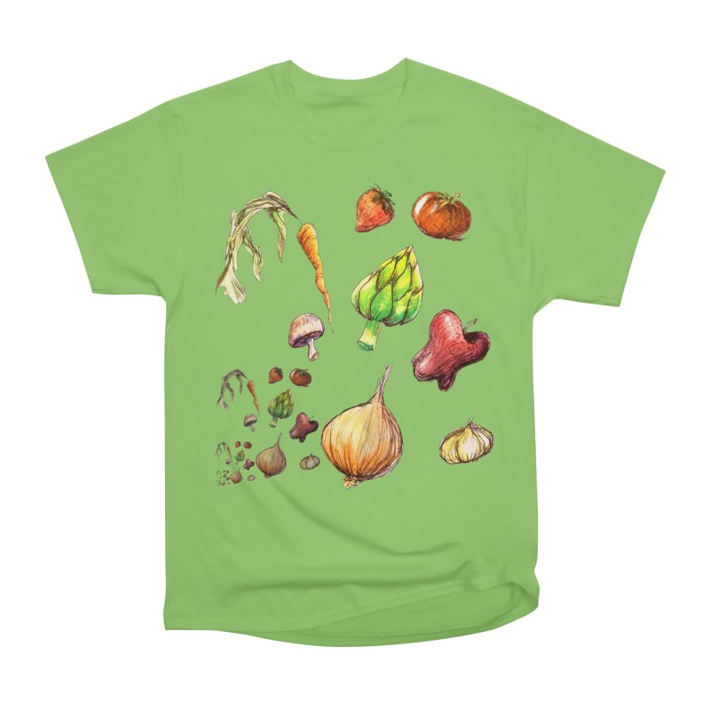 Romanesco Men's Heavyweight T-Shirt by dasiavou's Artist Shop