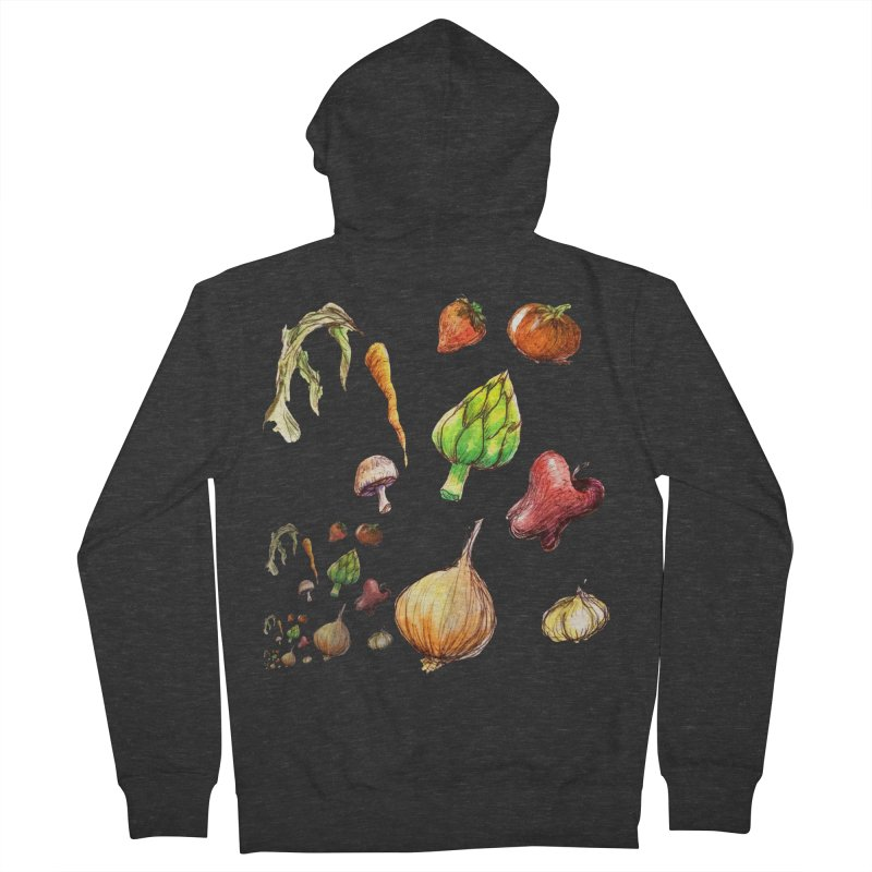 Romanesco Women's French Terry Zip-Up Hoody by dasiavou's Artist Shop