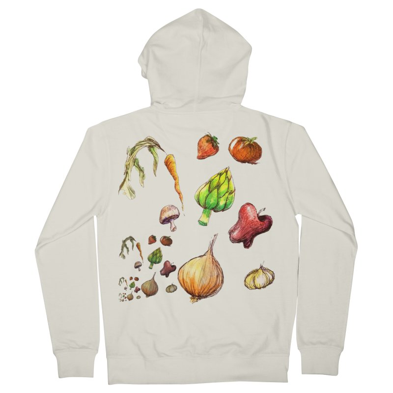 Romanesco Women's Zip-Up Hoody by dasiavou's Artist Shop