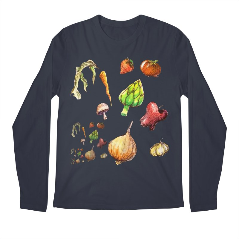 Romanesco Men's Longsleeve T-Shirt by dasiavou's Artist Shop