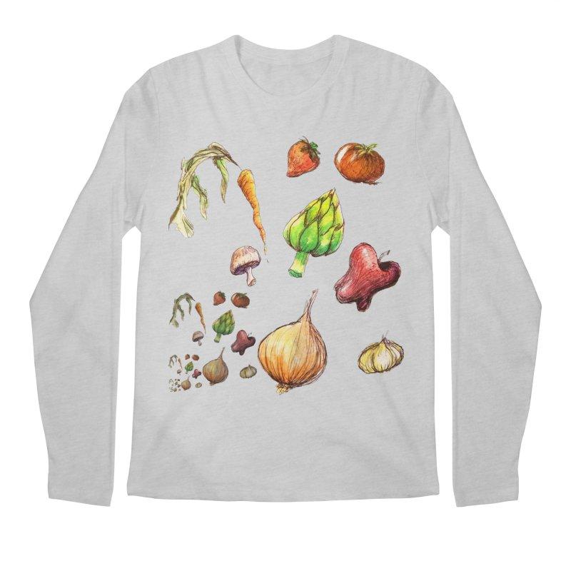 Romanesco Men's Regular Longsleeve T-Shirt by dasiavou's Artist Shop