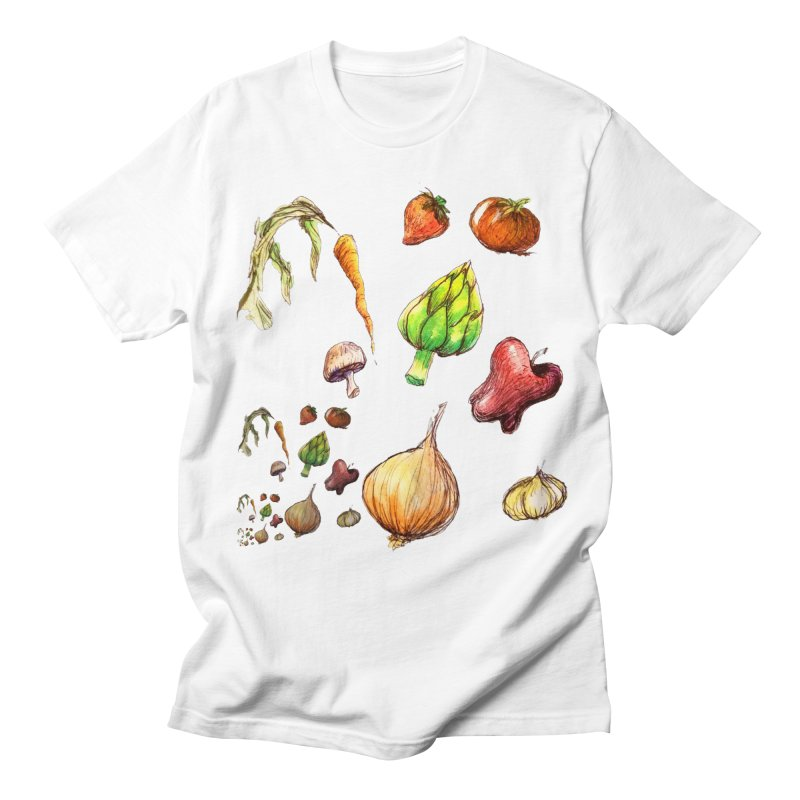 Romanesco Men's T-Shirt by dasiavou's Artist Shop