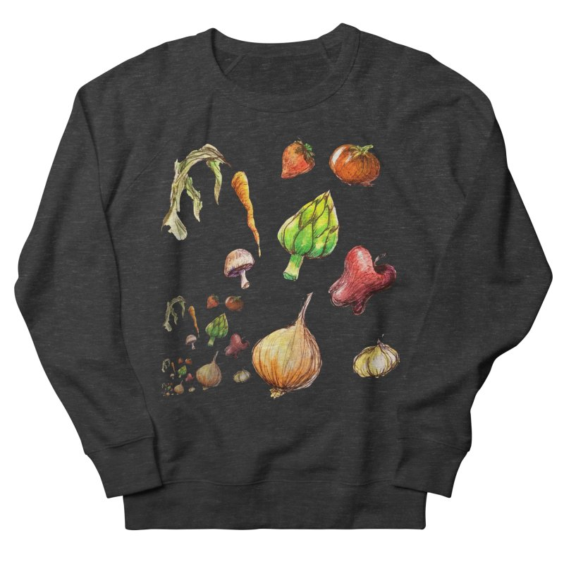 Romanesco Women's French Terry Sweatshirt by dasiavou's Artist Shop