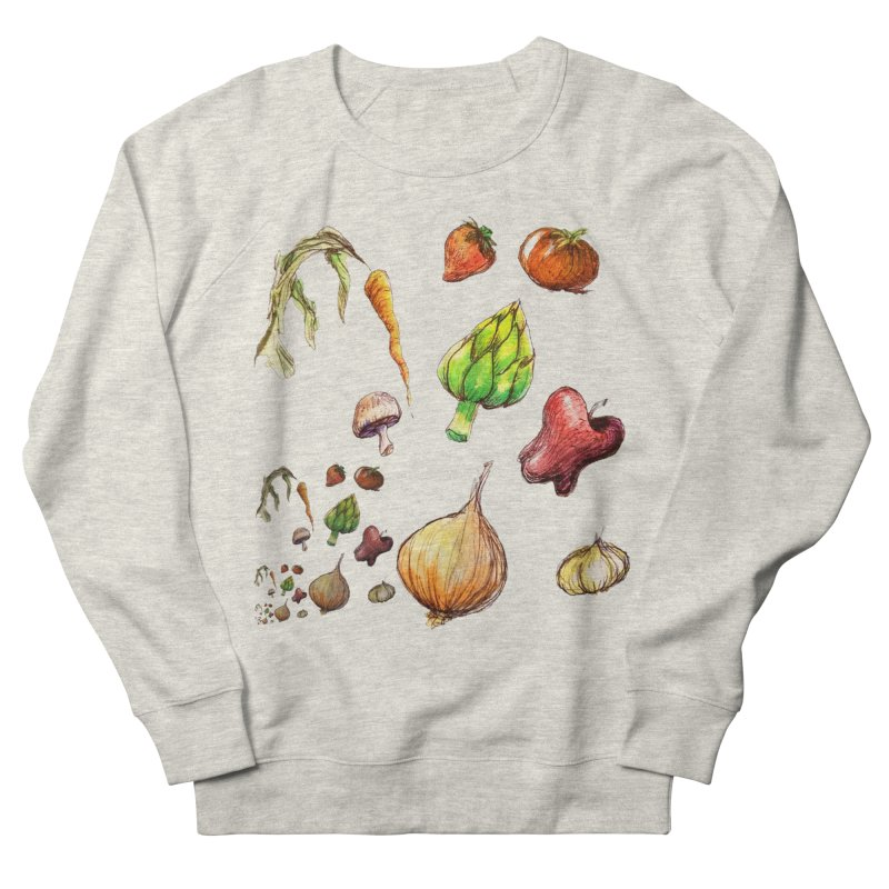 Romanesco Women's French Terry Sweatshirt by dasiavou's Artist Shop