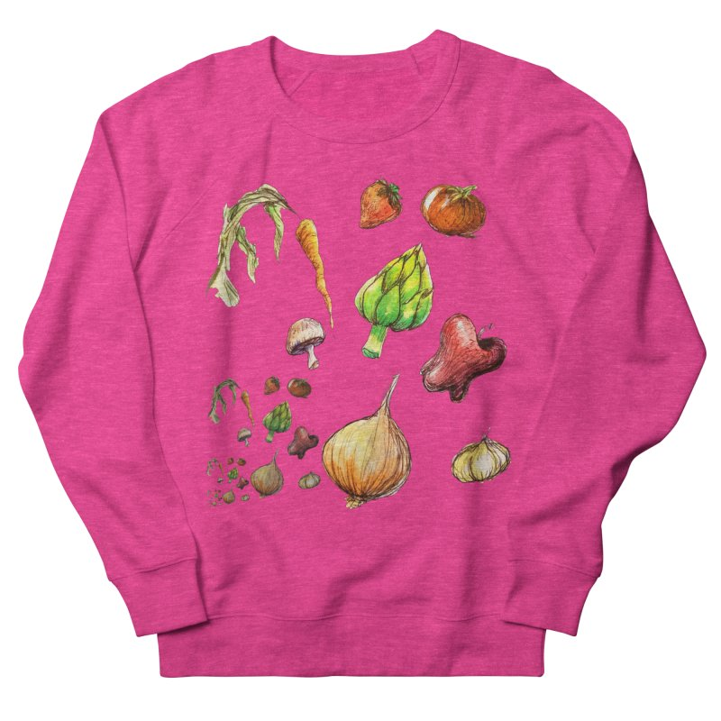 Romanesco Men's French Terry Sweatshirt by dasiavou's Artist Shop