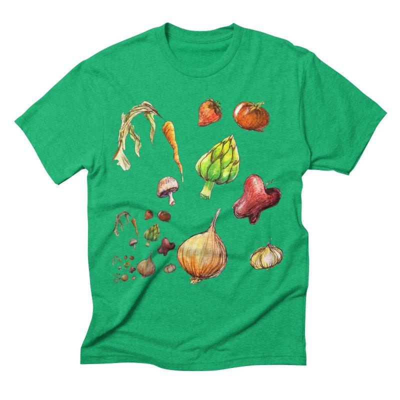 Romanesco Men's Triblend T-Shirt by dasiavou's Artist Shop