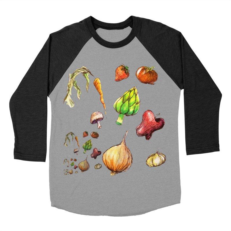 Romanesco Women's Baseball Triblend T-Shirt by dasiavou's Artist Shop