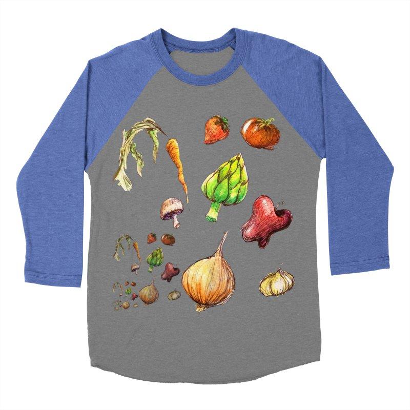 Romanesco Men's Baseball Triblend T-Shirt by dasiavou's Artist Shop