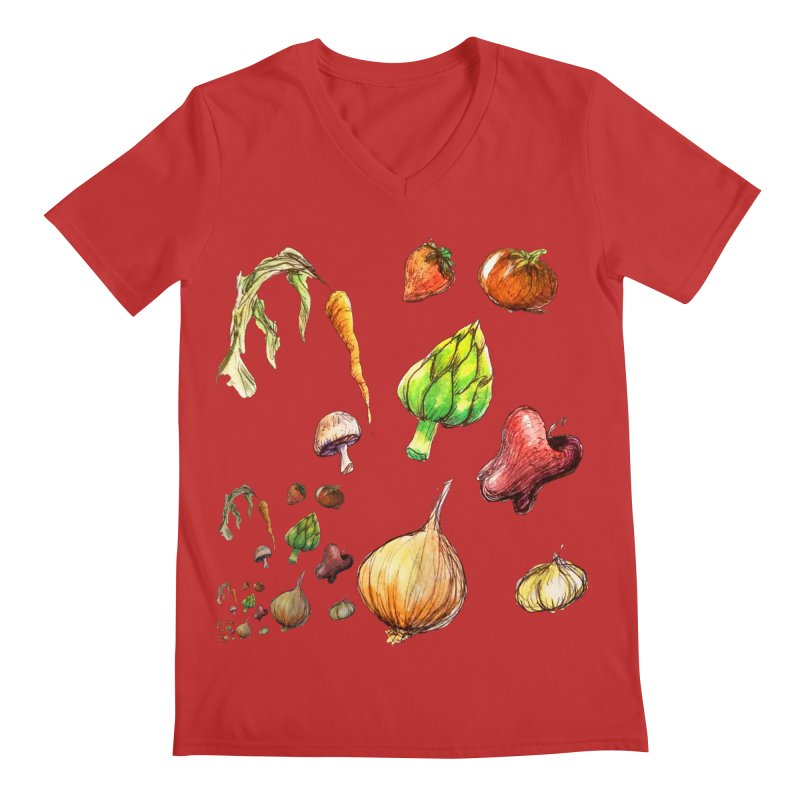 Romanesco Men's Regular V-Neck by dasiavou's Artist Shop