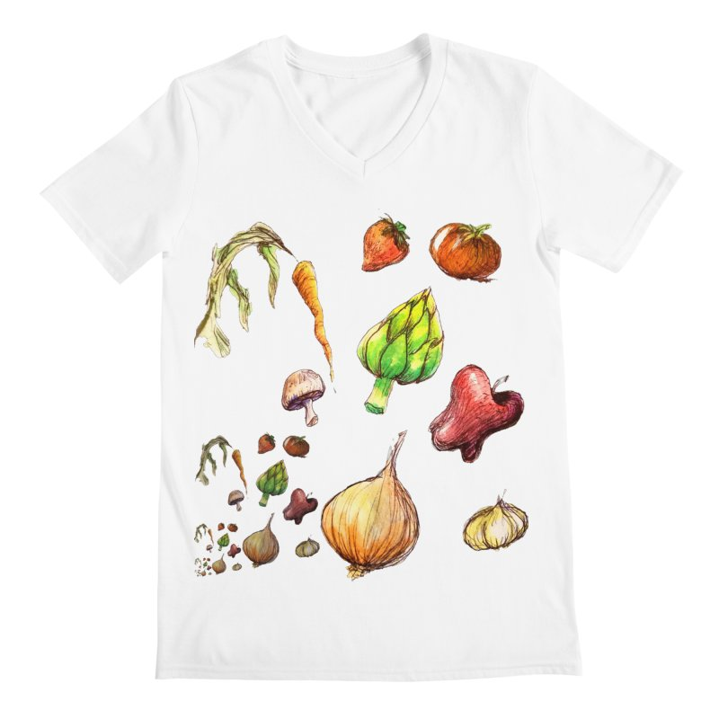 Romanesco Men's V-Neck by dasiavou's Artist Shop