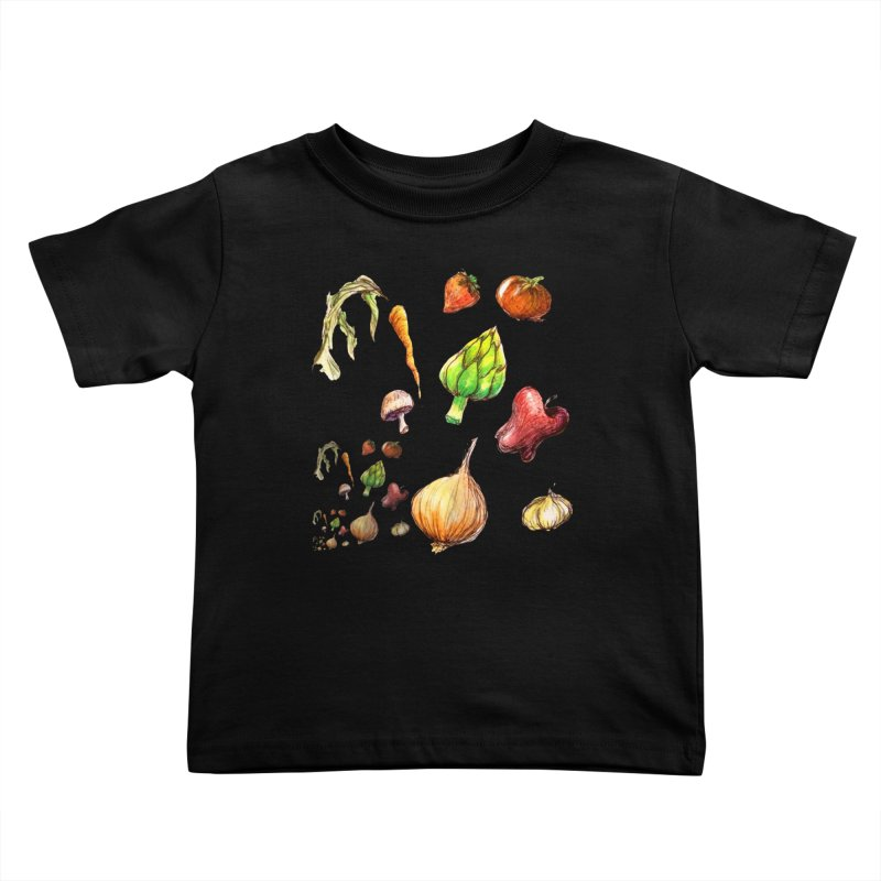 Romanesco Kids Toddler T-Shirt by dasiavou's Artist Shop