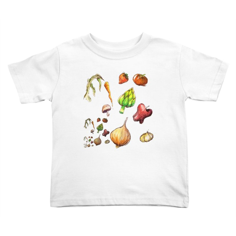 Romanesco Kids Toddler T-Shirt by dasiavou's Artist Shop
