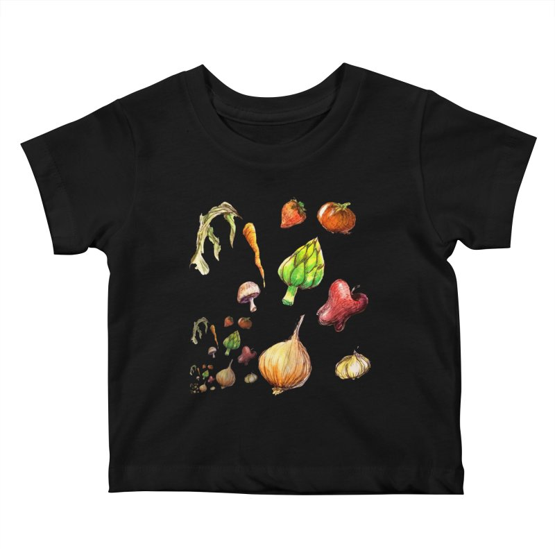 Romanesco Kids Baby T-Shirt by dasiavou's Artist Shop