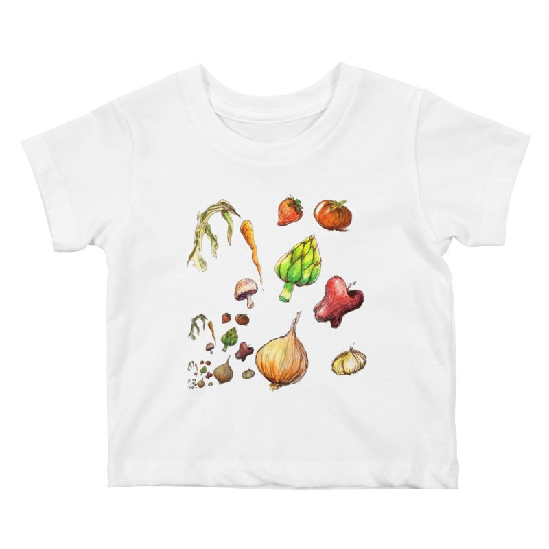 Romanesco Kids Baby T-Shirt by dasiavou's Artist Shop